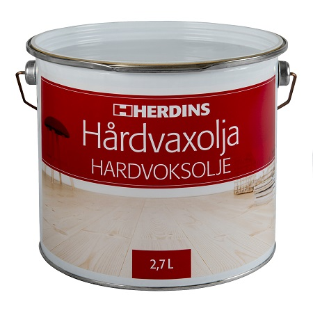 Herdins Hårdvaxolja 3l golv möbler inredning trä ytbehandling
