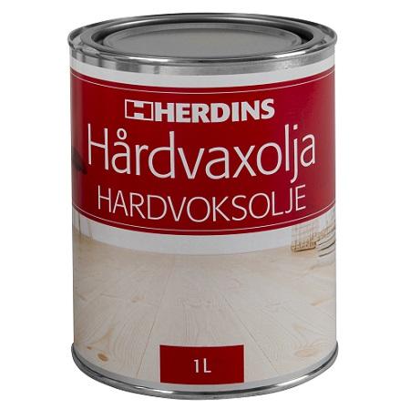Herdins Hårdvaxolja 1l golv möbler inredning trä ytbehandling