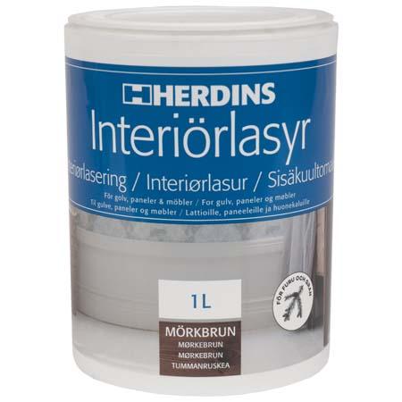 Herdins interiörlasyr färgsättning golv och träytor