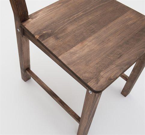 herdins betsad stol. lackbets aqua