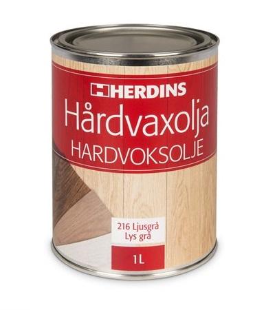Herdins Hårdvaxolja Pigmenterad för golv möbler inredning