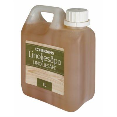 Herdins Linoljesåpa naturlig behandling för golv och träytor