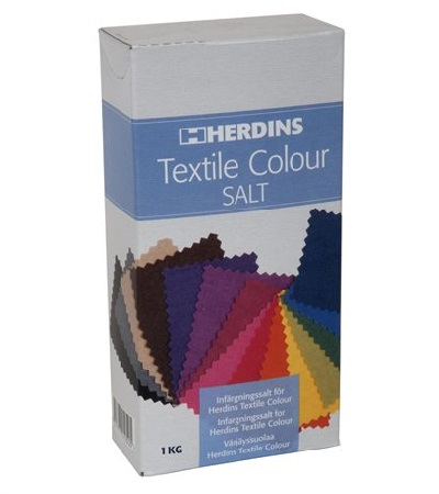 Herdins textile colour salt