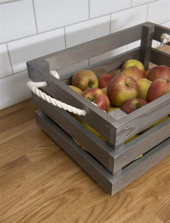 inspiration lackbets Aqua äppelkorg
