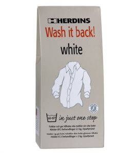 Herdins Wash It back white